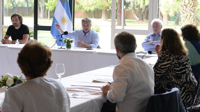 Reunion Alberto Fernandez Expertos