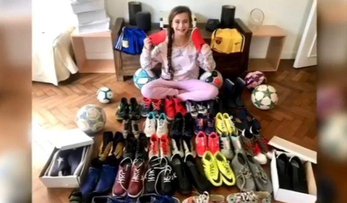 Zoe Campaña Donacion Botines San Isidro
