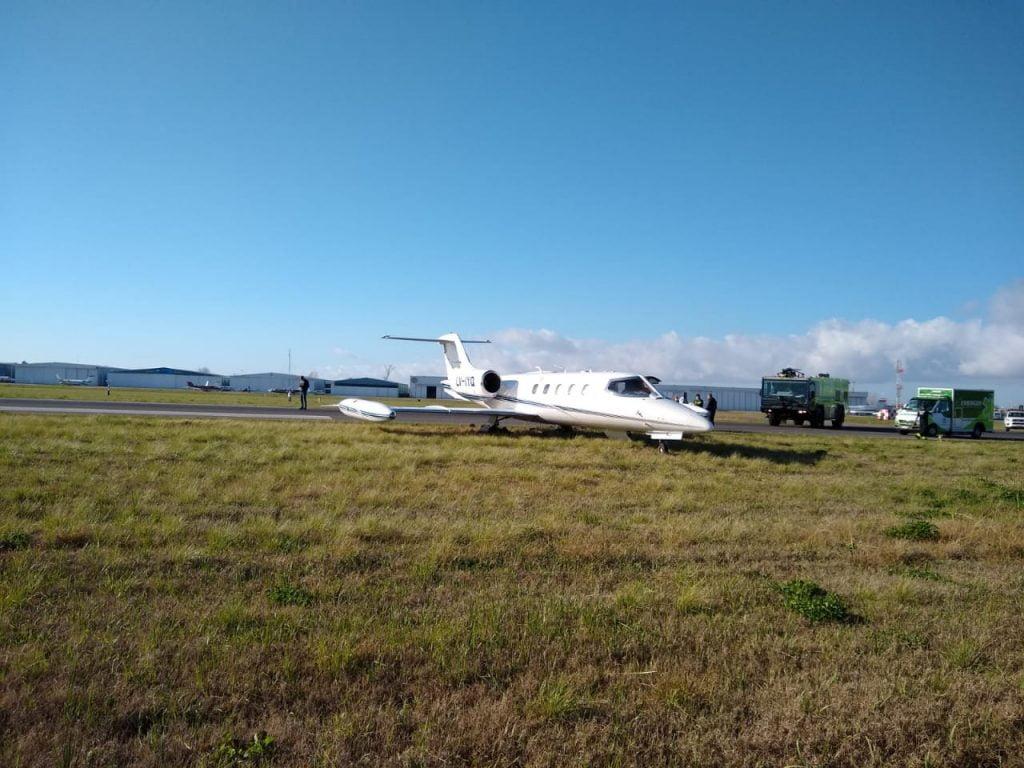 Avion Despiste Aeropuerto San Fernando 3