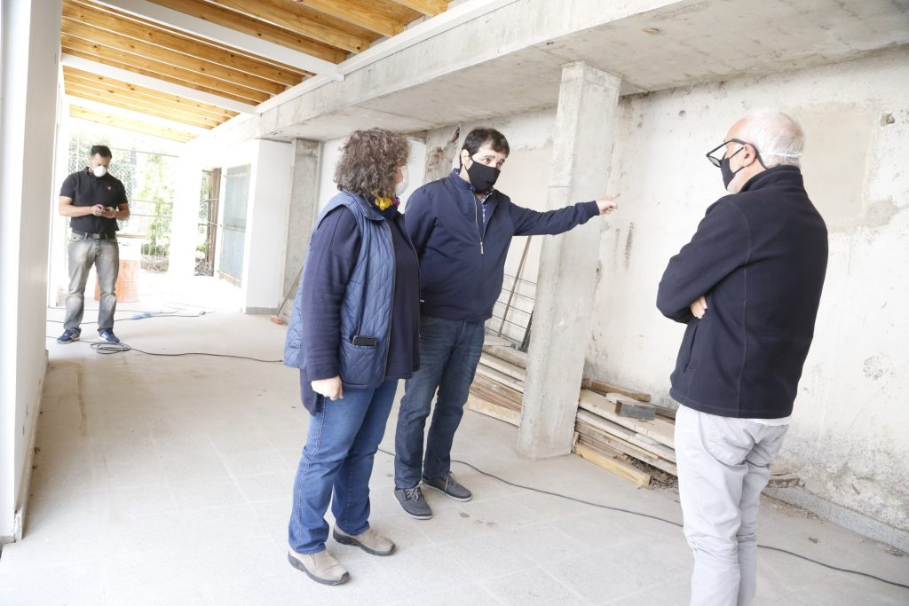 Avanzan Las Obras Del Nuevo Hogar Municipal Evita.