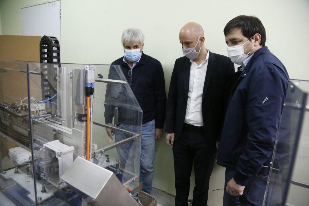 Desde El Inicio De La Cuarentena San Martin Asiste A Las Empresas Locales Con El Programa De Acompanamiento A Pymes.