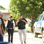 Policía Tres De Febrero