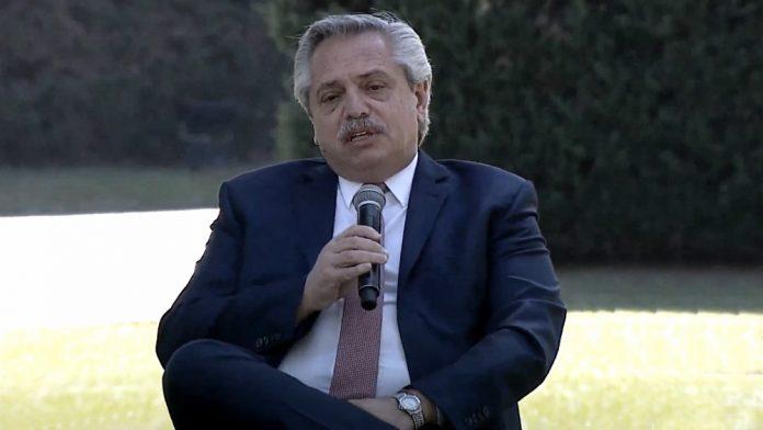 Alberto Fernandez Anuncio Ambiental