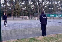 Clausura Canchas Tenis Country Pilar