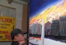 Carlos Alberto Sosa, pintor, La Boca