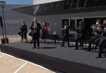 Inauguracion Hospital Nestor Kirchner Alberto Fernandez