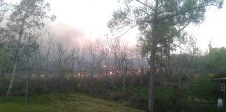 Incendio Arroyo Caraguata