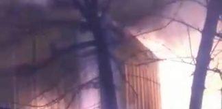 Incendio Derqui Barrio La Escondida