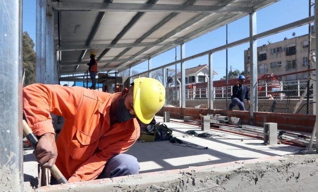 Obras Estacion Don Torcuato Belgrano Norte