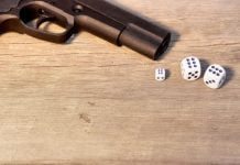 Pistola Dados Arma