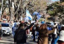Protestas Olivos 19 Sep