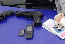 Robo Escobar Armas Juguete
