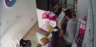 Robo Panaderia San Martin