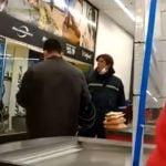 Supermercado Carrefour Pilar Barbijo Insultos