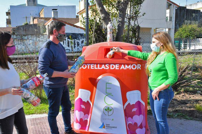 1 Record Botellas De Amor San Fernando