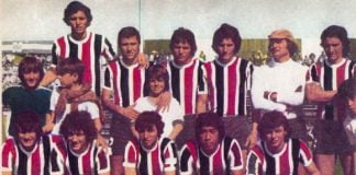 Chacarita Atlanta. Nacional 1975