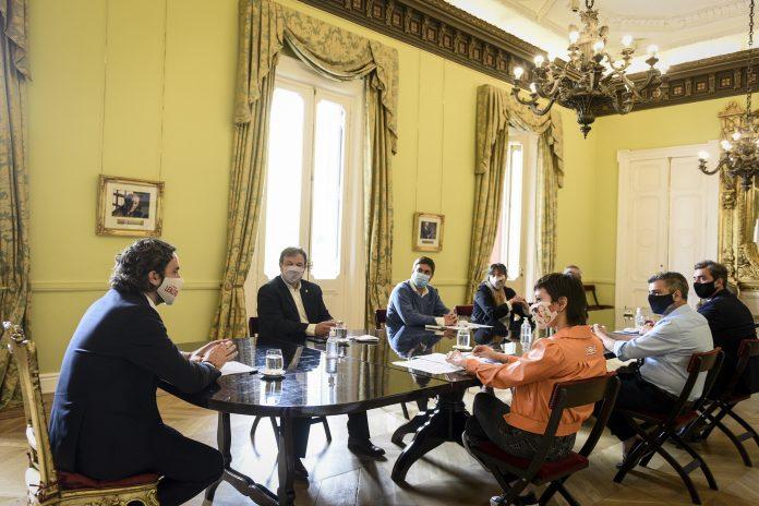 Reunión Del Jefe De Gabinete Con Intendentes