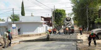 Vialidad Bonaerense, Trabajos De Pavimentación