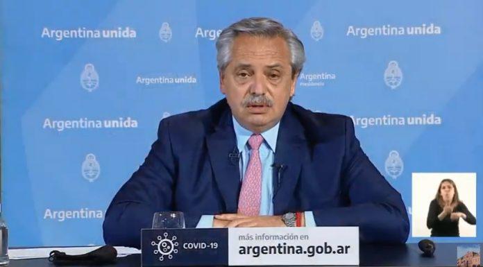 Alberto Fernandez Anuncio Cuarentena Octubre