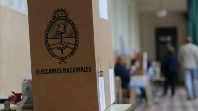 Elecciones Paso Urna 1103