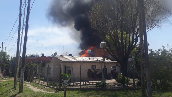 Incendio Tortuguitas Deposito Garrafas