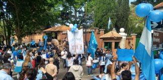 Manifestación Provida Quinta Olivos