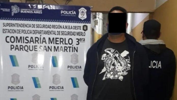 Motociclista Merlo Asesinado Balazos Detenido