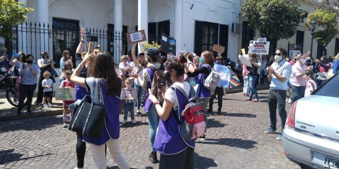 Movilización Hcd San Isidro 1
