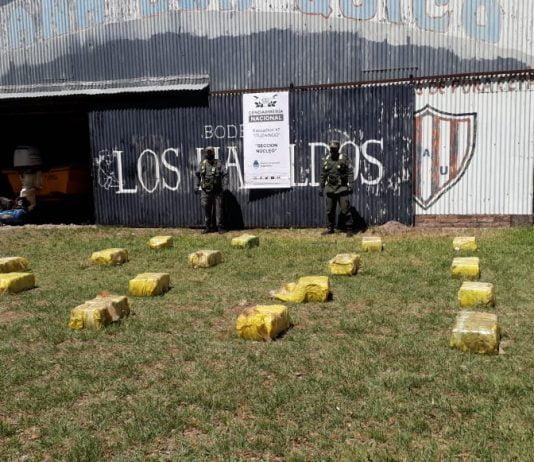 Operativo Gendarmeria Drogas Conurbano Corrientes