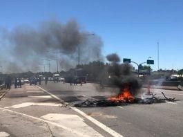 Protestas Barrio San Luis Escobar Desalojo 3