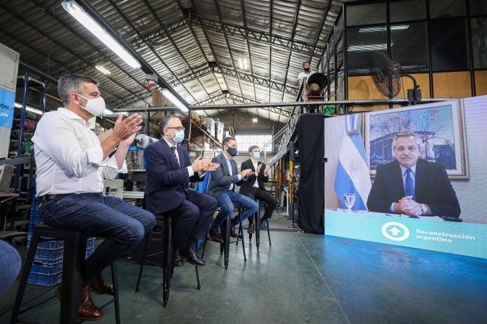 Alberto Fernandez Zabaleta Y Kulfas Lanzaron En Hurlingham El Plan De Reactivacion E Inclusion Financiera Para Pymes