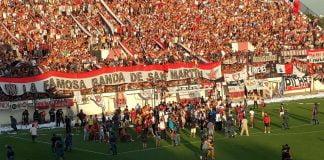 Chacarita 1 Villa Dalmine 0. Ascenso 2014