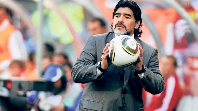 Diego Maradona, Chacarita
