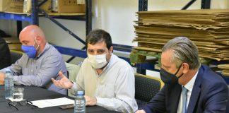 Fernando Moreira Y Ariel Schale Realizaron Una Mesa De Trabajo Con Pymes De San Martín