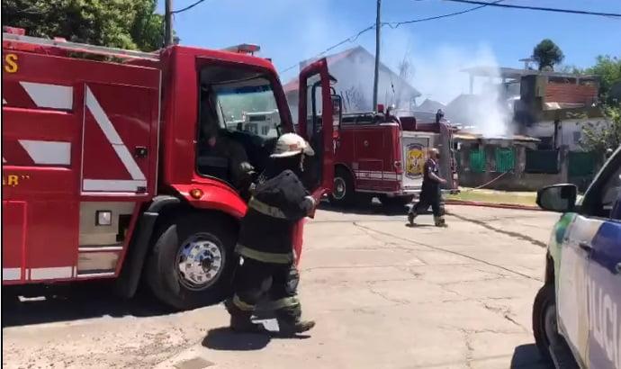 Córdoba - Se robo 12 Kg de asado mientras apagaba un incendio.