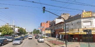 Obras, Corta Avenida Illia, French Y Gutierrez