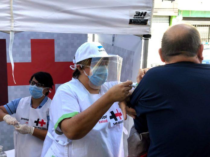 San Martín Lleva A Cabo Distintas Acciones Para Que Las Vecinas Y Los Vecinos De Todas Las Edades Puedan Completar Los Esquemas De Vacunación Previstos En El Calendario Nacional
