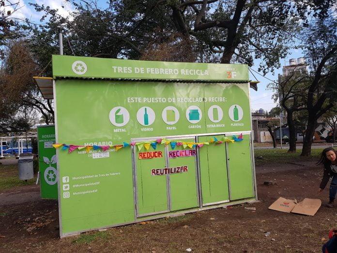 Amplía Programa Reciclaje Tres De Febrero