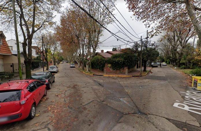 Calle Rivadavia Beccar
