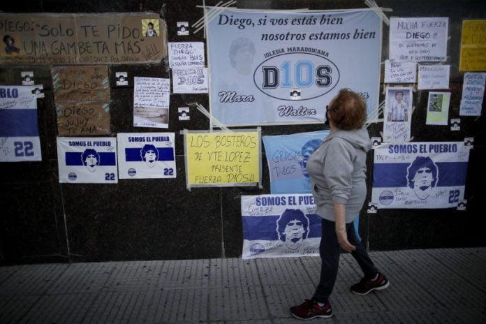 Diego Maradona Clinica Olivos Nordelta