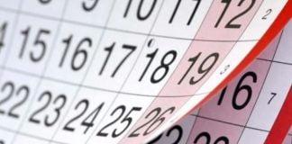 Feriados Calendario