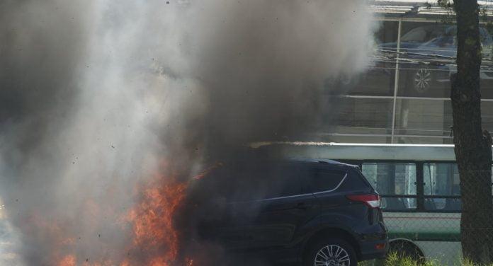 Incendio Panamericana Autoescobar