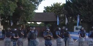 Policia Cementerio Bella Vista