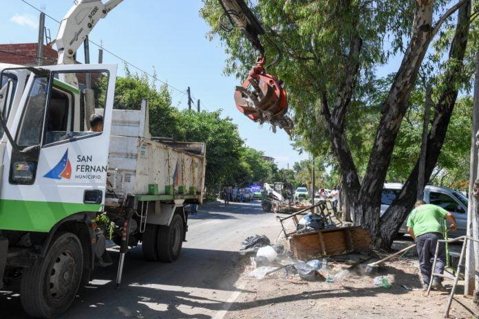 limpieza barrio san lorenzo