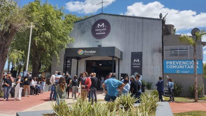 inauguración mercado del paraná escobar