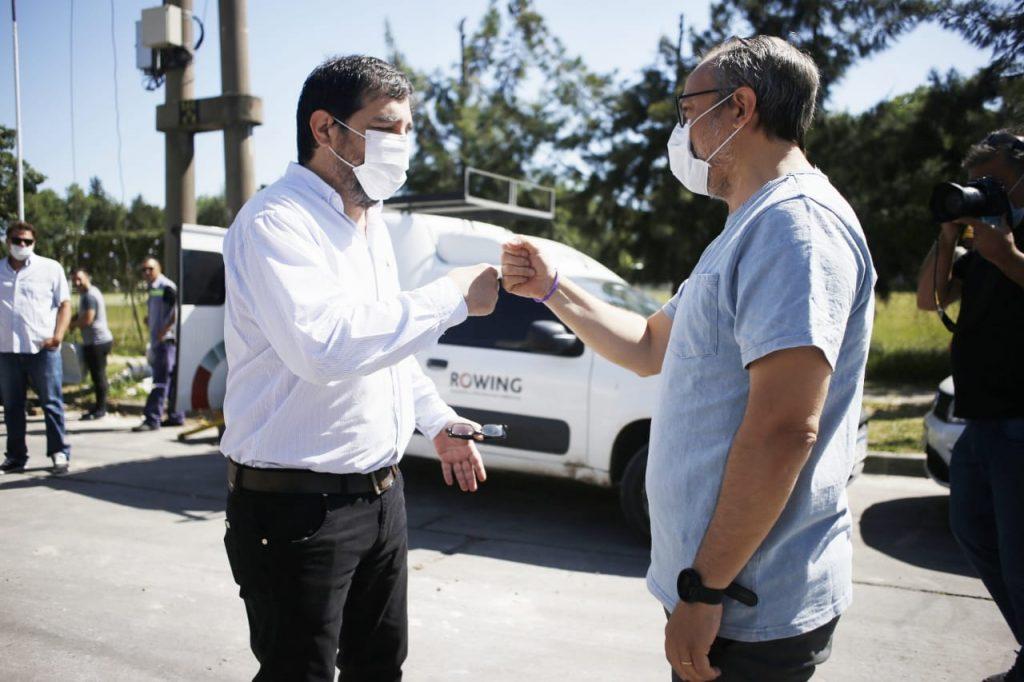 Diego Valenzuela Y Fernando Moreira Renovacion Avenida Triunvirato San Martin Y Tres De Febrero