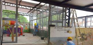 Haciendo Escuela Se Ejecuta A Través De Un Fondo Educativo Del Estado Nacional, Que La Provincia De Buenos Aires Coparticipa Con Los Municipios.