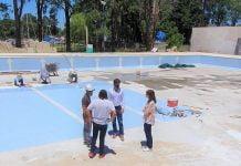 Natatorio Olímpico, Polideportivo N°3 San Fernando