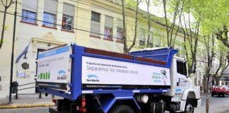 Recolección De Residuos Y Servicios Municipales En San Martín. 31 De Diciembre Y 1 De Enero