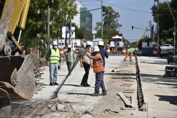 Renovación Avenida Triunvirato San Martín Tres De Febrero